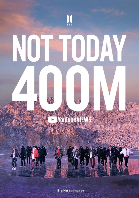 Not Today 4億回