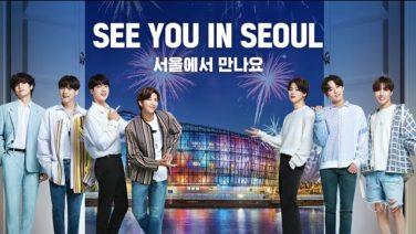 BTS ソウル観光プロモーション映像「SEE YOU IN SEOUL」2020年